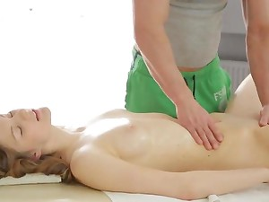 Extra naughty massage romance with Ariadna